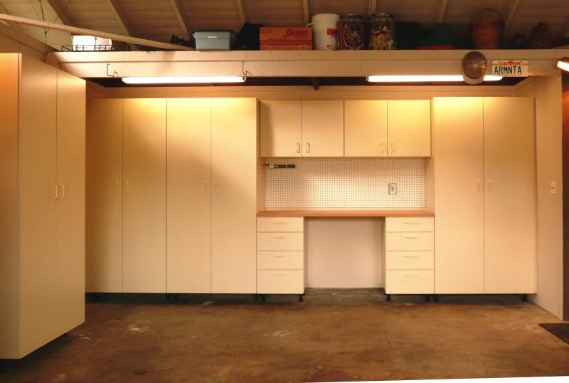 Garage Shelving Design